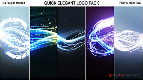 Quick Elegant Logo Pack (5 in 1) - Project for After Effects (Videohive)
