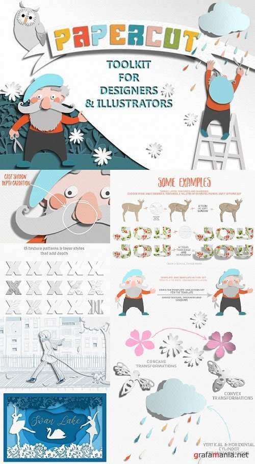 Papercut Toolkit for Photoshop - 1201370