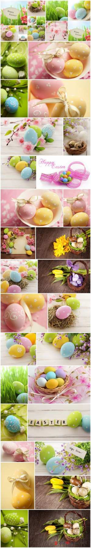 Easter Eggs and Happy Easter 3 - Set of 30xUHQ JPEG Professional Stock Images