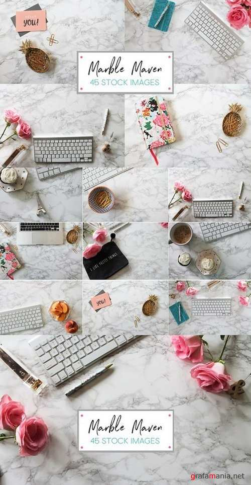 Marble Maven - 45 Stock Image Bundle 1215742
