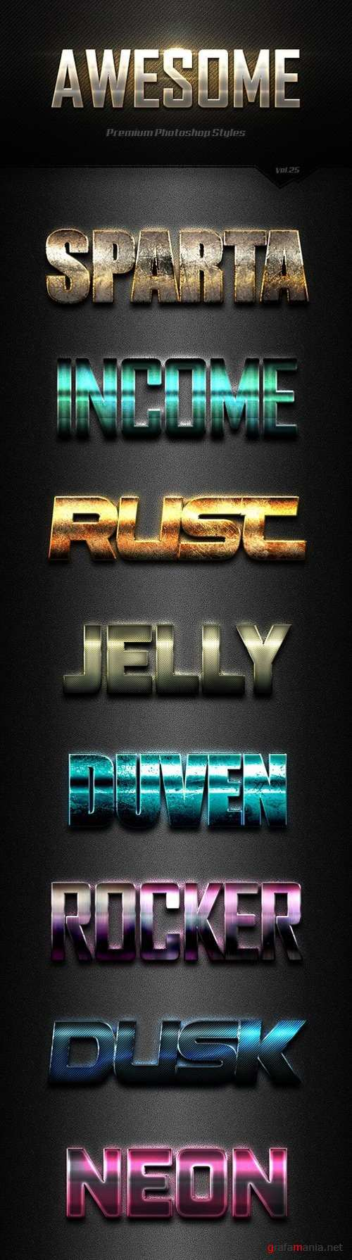 Photoshop Text Effects Vol25 19243712