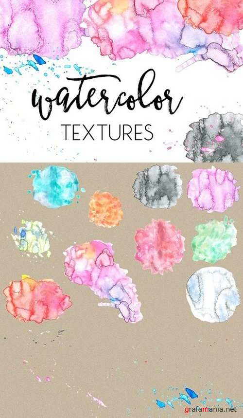 Watercolor Textures Vol. 1 1227736