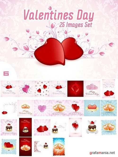 Set of Valentine's Day Images 1227904