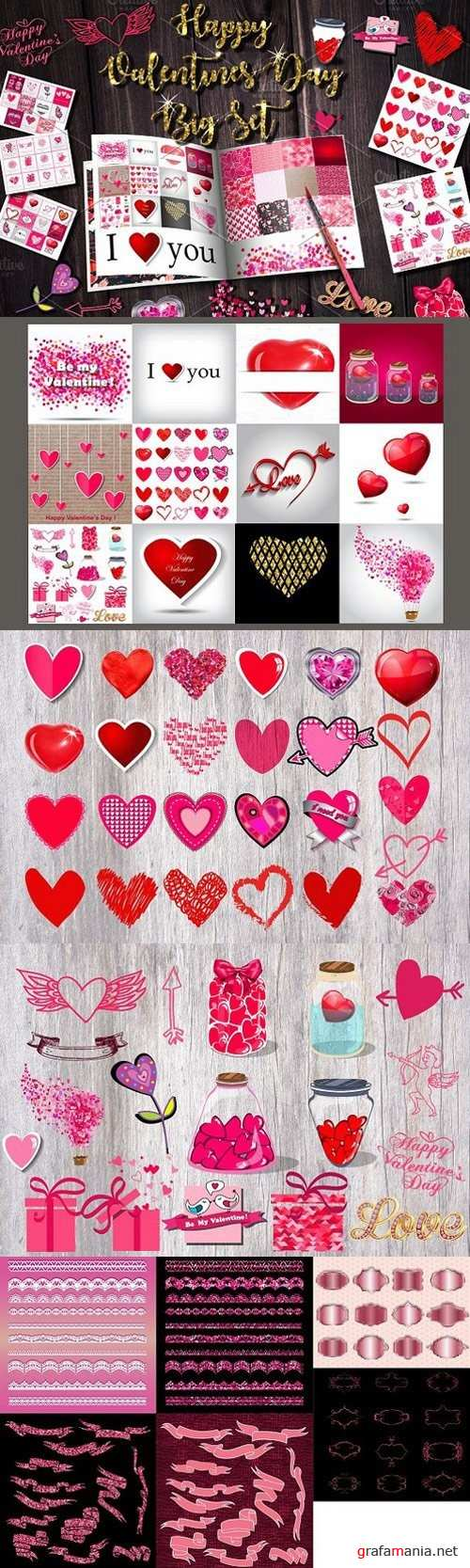 Happy Valentine's Day Big Set 1223954