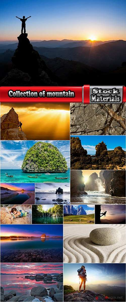 Collection of mountain climber rock stone travel nature landscape 16 HQ Jpeg