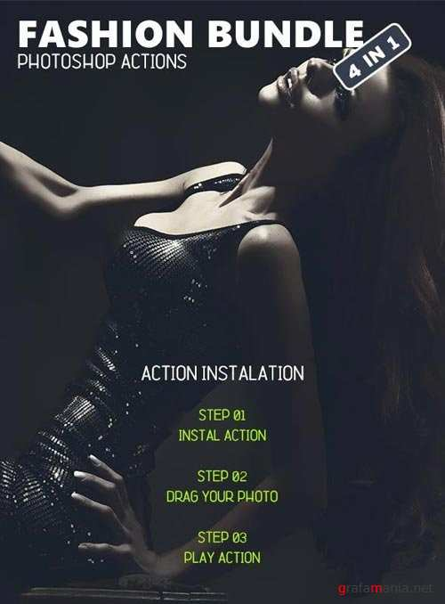 Fashion Bundle - Photoshop Actions #5 - 19406389