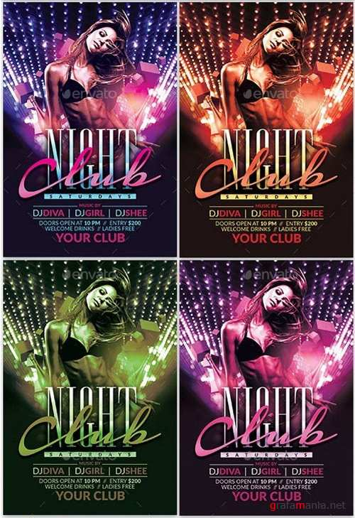 Night Club Flyer 19271495