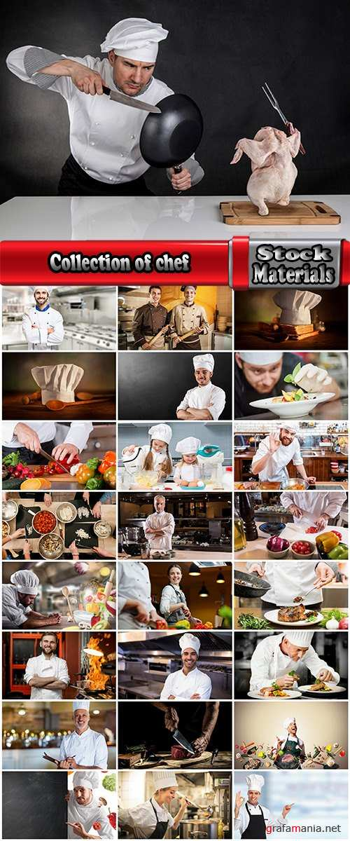 Collection of confectioner chef pastries sweets cake pie 2-25 HQ Jpeg