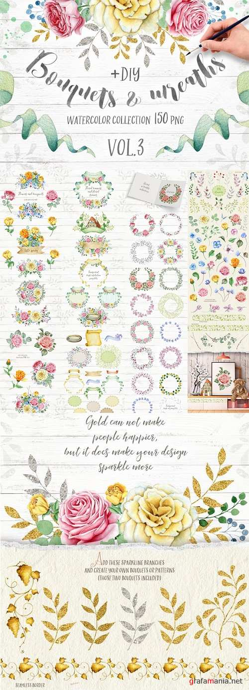 Wreaths and Bouquets collection V3 1231667
