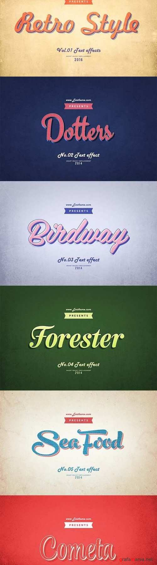 Retro Style Text Effects Vol.1 - 1214494