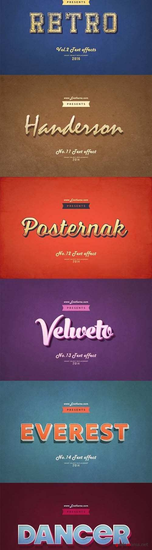 Retro Style Text Effects Vol.2 - 1214556