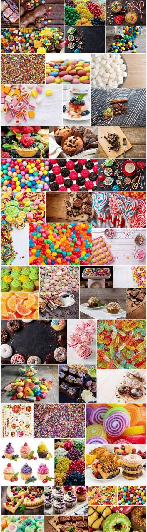 World of candies and sweets - 53xUHQ JPEG