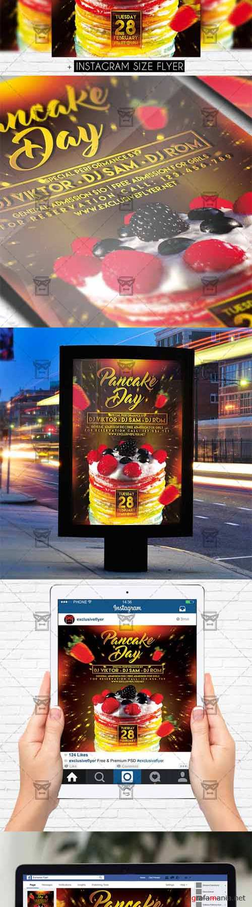 Flyer Template - Pancake Day
