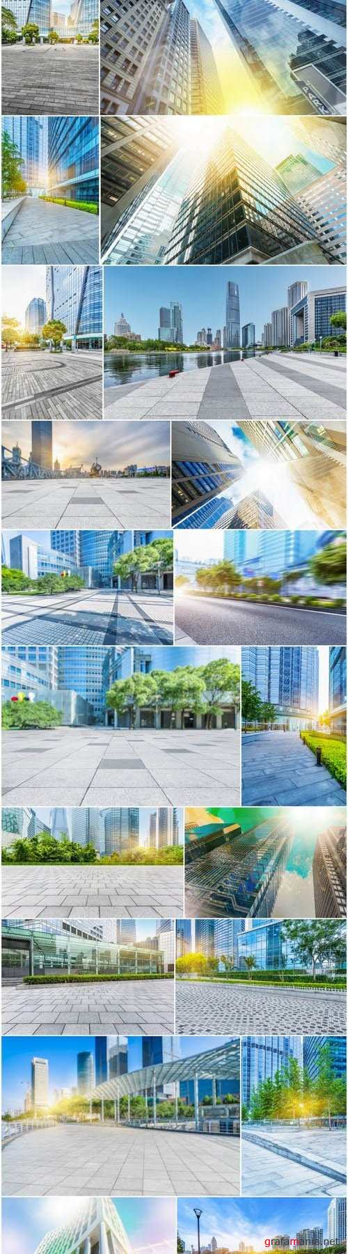 Modern Architecture 7 - Set of 30xUHQ JPEG Professional Stock Images