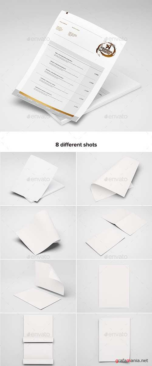 A4 Letterhead / Flyer / Poster Mock-up - 19488508