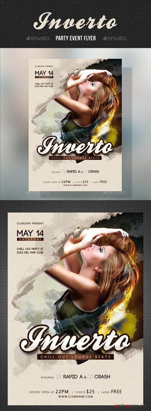 Inverto Music Party Flyer 2 18623208