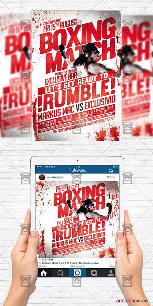 Flyer Template - Boxing