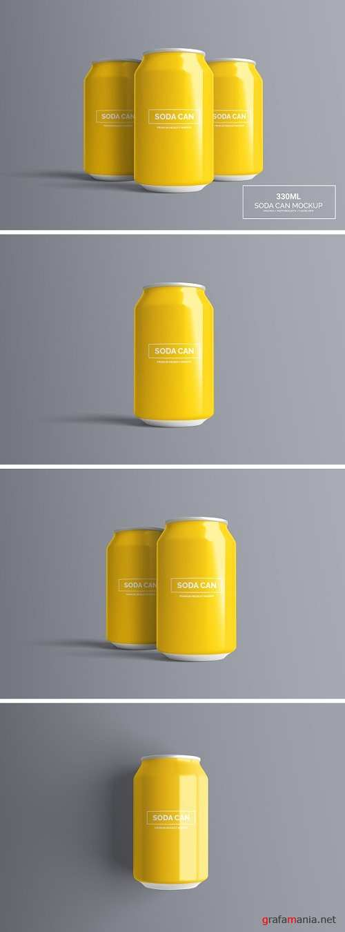 Can Mock-Up - 330ml - 1321411