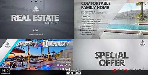 Real Estate Magazine / Broadcast ID - Project for After Effects (Videohive)