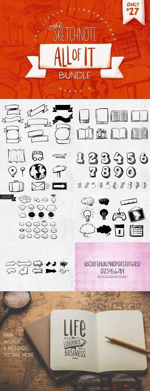 All of It: Sketchnote Bundle 1185030