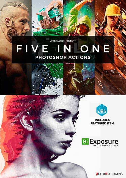 GraphicRiver After Actions Bundle - Photoshop Actions
