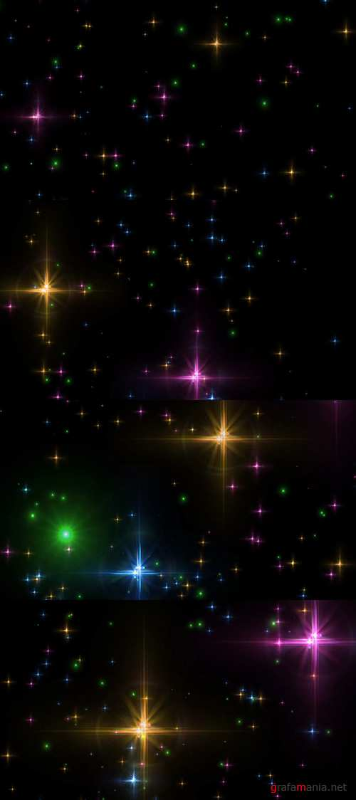 Clean Sparkles HD Animation Effect