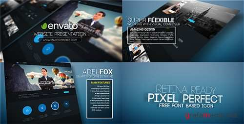 Website Promo Presentation - After Effects Project (Videohive)