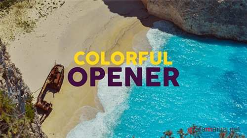 Colorful Opener - After Effects Project (Videohive)