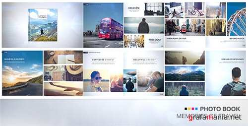 Photo Book - Memories of Travel - After Effects Project (Videohive)