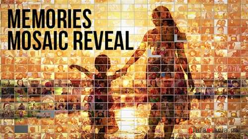 Mosaic Photo Reveal - Memories - After Effects Project (Videohive)