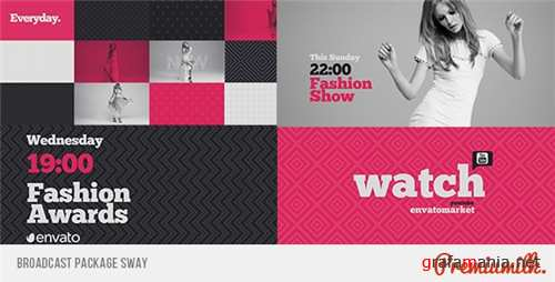 Broadcast Package Sway - After Effects Project (Videohive)