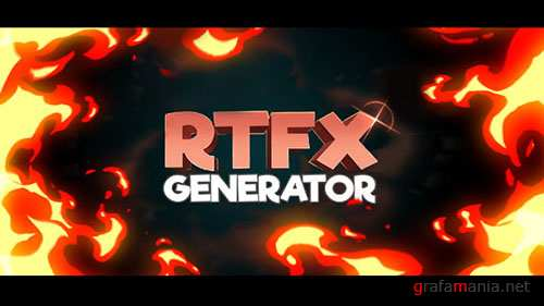 RTFX Generator + 440 FX pack - Project for After Effects (Videohive)