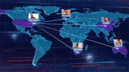 World Map 16046826 - After Effects Project (Videohive)