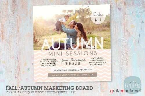 IW007 Fall Marketing Board 1313478