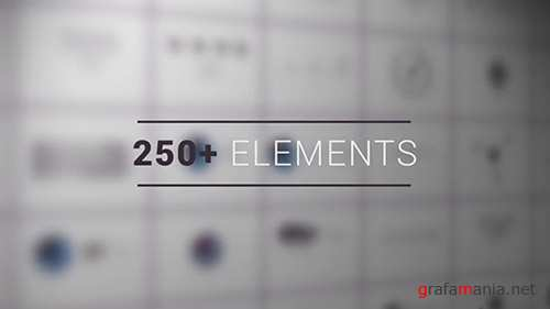 250 Infographic Elements 69361265 - After Effects Templates