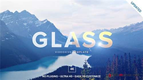 Glass Logo Opener - After Effects Project (Videohive)