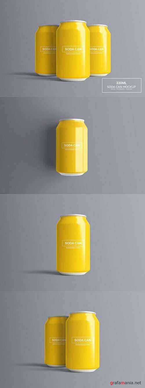 Can Mock-Up - 330ml 1321411