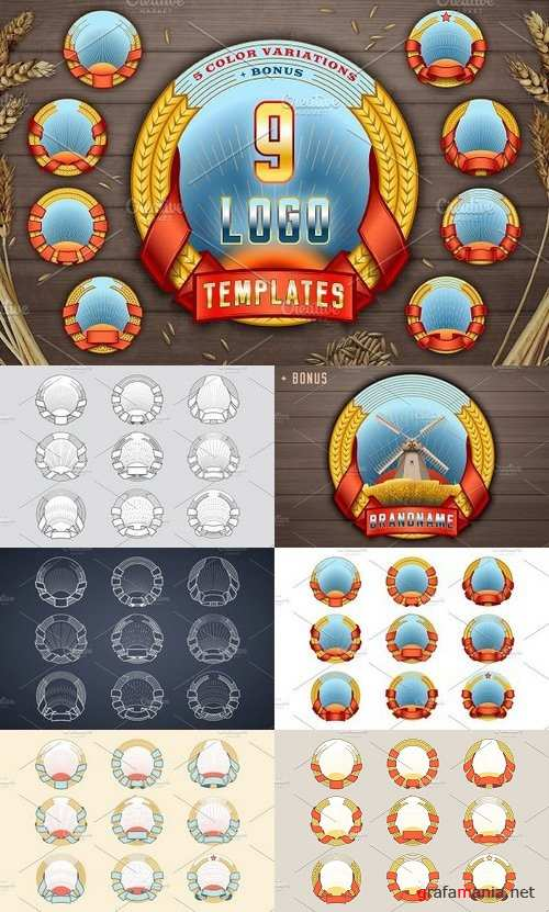Logo Templates vol.1 1144591