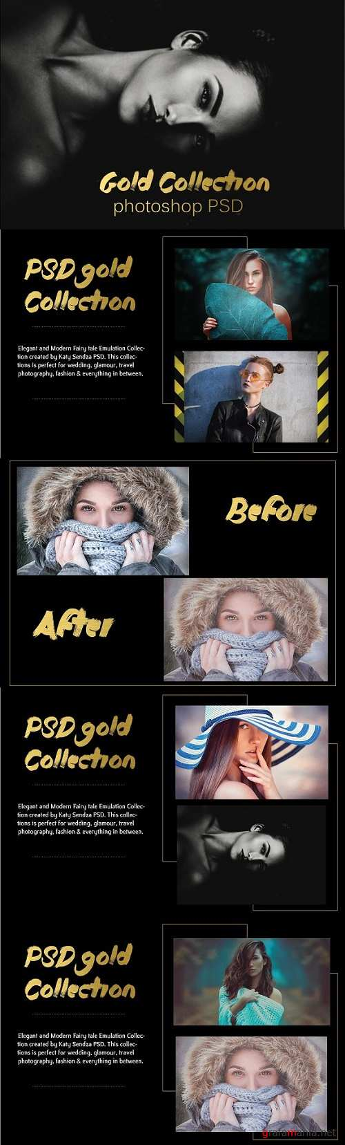PSD Gold Collection 1349636