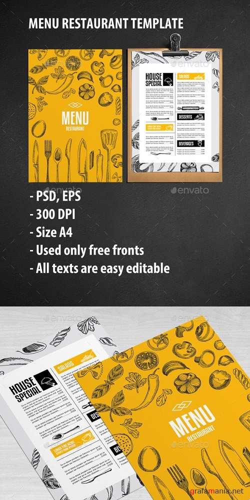 Cafe and Restaurant Template 11990288