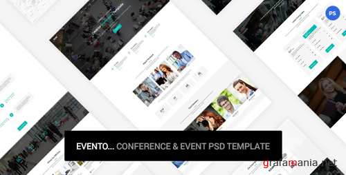 Evento - Conference & Event PSD Template 19253008