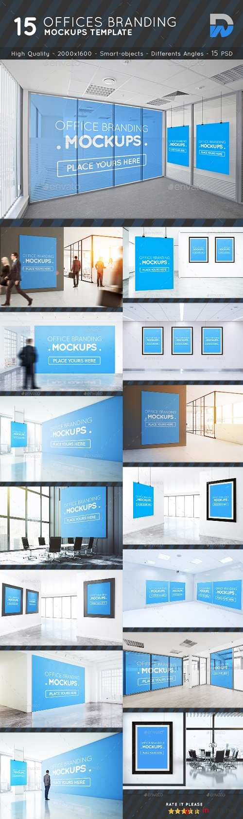 Offices Posters, Billboards Mockups Vol.2 - 19511689