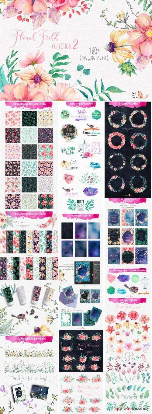 FLORAL FIELD Collection 2 - 1276769