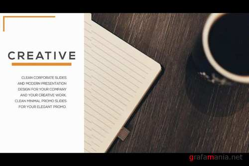 Clean Corporate Promo After Effects Templates