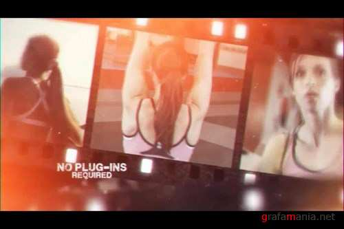 Film Reel Promo After Effects Templates