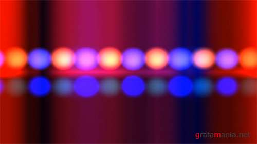Red Blue Gradients Lights Bar