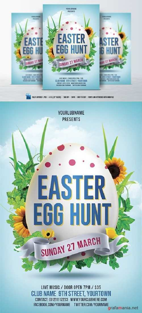 Easter Egg Hunt Flyer - 535614