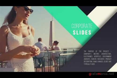 Corporate Presentation After Effects Templates
