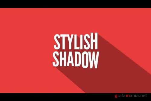 Long Shadow Titles After Effects Templates