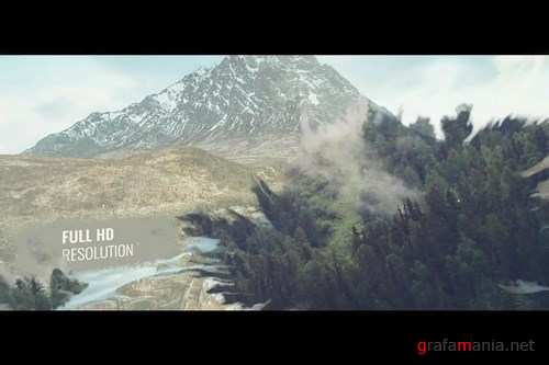 Ink Slideshow After Effects Templates